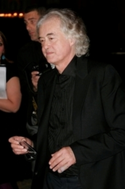 Jimmy Page and his broken pinkie